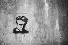 James Dean. (R Image Studio) Tags: street celebrity art photography graffiti james exploring dean tags iowa des local moines