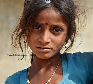 Hindu girl, Thar, Pakistan