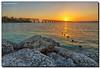 Sunset in the Keys (Fraggle Red) Tags: statepark sunset sun evening rocks florida railroadbridge hdr floridakeys bahiahondastatepark 7exp flaglerrailroad monroeco bahiahondakey flaglersfolly canonef1635mmf28liiusm dphdr