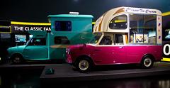 Mini Ice cream van & Wildgoose (michael_hamburg69) Tags: auto car museum germany munich münchen bayern deutschland mini 1961 1965 icecreamvan wildgoose kfz bmwwelt