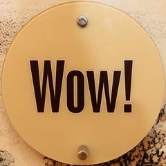 Wow! (Leo Reynolds) Tags: word squaredcircle oneword langeng onewordwow xleol30x sqset115 xxx2015xxx