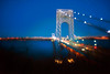 George Washington Bridge (mudpig) Tags: newyork newjersey gothamist bluehour hdr georgewashingtonbridge mudpig
