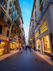 Via Cappello (DBP Harrison) Tags: street italy holiday olympus verona omd uwa 2015 ultrawideangle em5 918mm