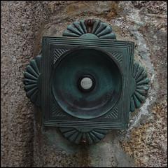 Photo of fancy bell push