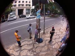 Luz, cmera... ao! (GuiibsStickers) Tags: streetart brasil sticker stickerart stickers paulo so