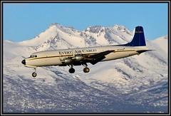 N747CE Everts Air Cargo (Bob Garrard) Tags: air cargo douglas anc dc6 everts panc liftmaster c118 dc6a c118a n747ce
