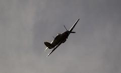 Hurricane PZ865 (deltic17) Tags: light cloud plane vintage hurricane lincolnshire hero ww2 prop raf hawker battleofbritain bbmf rafconingsby pz865 bombercounty