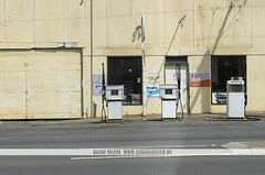 Campbell Town Garage, Tasmania (Naomi Rahim (thanks for 2 million hits)) Tags: road street travel urban nikon mainstreet suburban garage australia roadtrip tasmania petrol mundane gaspump bogan petrolstation campbelltown australiana 2015 travelphotography nikond7000