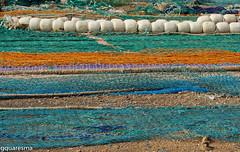 Redes de pesca , Ayamonte (aquaviva1) Tags: espanha ayamonte redesdepesca graaquaresma
