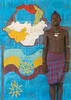 Hamer tribe teenager in a school in front of a painted wall with the ethiopian map, Omo valley, Turmi, Ethiopia (Eric Lafforgue) Tags: poverty africa school people color childhood vertical painting outdoors photography necklace education mural day map african cellular tribal mobilephone teenager bead omovalley schools ethiopia tribe development hamar oneperson telecom telecommunication developingcountry hamer kalla hornofafrica ethiopian riftvalley wallpaintings eastafrica abyssinia realpeople teenageboy beadednecklace lookingatcamera ruralscene buildingexterior turmi africanethnicity 1people indigenousculture beadednecklaces oneteenageboyonly ethiopianethnicity ethio161853