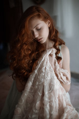 Stuff (la_cla25) Tags: light red portrait girl vintage hair redhair ritratto luce ragazza