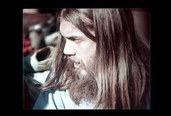 ss23-70 (ndpa / s. lundeen, archivist) Tags: portrait people man color film face boston beard massachusetts nick longhair slide hippie facialhair slideshow brunette mass 1970s youngman bostonians bostonian dewolf early1970s nickdewolf photographbynickdewolf slideshow23