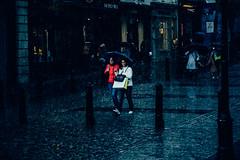 Playing in the rain. (P1ay) Tags: street london rain canon airplane photography streetphotography explore photograph raindrops pictureoftheday streetportraits peopleintherain cloudsafterrain streetmodel canon60d lightrooms raininginlondon p1ay streetphotograhpyinlondon