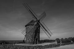 Le Moulin De Craca... (De l'autre ct du mirOir...) Tags: bw mer france monochrome architecture french moulin 22 blackwhite nikon brittany tour noiretblanc bretagne nb breizh nikkor fr extrieur noirblanc ctesdarmor  d810 plouzec  240700mmf28 lemoulindecraca ngroyblanco