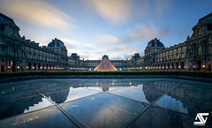 Good morning (A.G. Photographe) Tags: longexposure paris france sunrise french nikon europe louvre ag capitale nikkor pyramide franais parisian anto xiii parisien 1424 d810 antoxiii agphotographe wonderpana