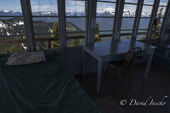 Home for 4 days (D. Inscho) Tags: mountains volcano washington mountbaker northcascades firelookout kulshan