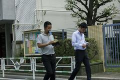handsfree (edwardpalmquist) Tags: street city travel people urban plant man money tree nature coffee japan tokyo wallet can