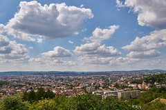 Brno (talbluk) Tags: life city travel sky house clouds landscape czech none top sony sigma brno hora wiew 19mm bl ilce6000