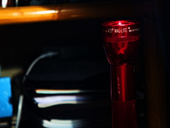 MagLite (raymondclarkeimages) Tags: raymondclarkeimages 8one8studios usa rci light flashlight olympus maglite mag instrument maginstrument tool dcell aluminum batteryoperated lowlight availablelight dof depthoffield 1240mm28 em5mk2 mirrorless m43 omd micro43 microfourthirds ilc flickr google yahoo