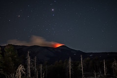 A night at the base of Mount Etna (Lorenzo Sedita) Tags: light night stars 50mm volcano nikon 14 ngc mount sicily etna base notturna notte eruption catania sicilia vulcano stelle volcanology eruzione vulcanologia flickrsicilia