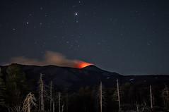 A night at the base of Mount Etna (Lorenzo Sedita) Tags: light night stars 50mm volcano nikon 14 ngc mount sicily etna base notturna notte eruption catania sicilia vulcano stelle volcanology eruzione vulcanologia flickrsicilia