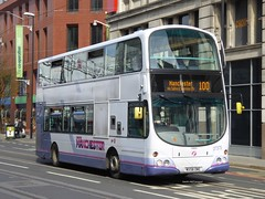 First Manchester, 37375 [MX58DWE] - Manchester (21/04/16) (David's NWTransport) Tags: volvo first firstbus firstgroup wrightbus volvob9tl wrighteclipsegemini wrightgemini mx58dwe firstmanchster