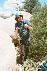 (kaysedilla) Tags: tree film rock 35mm photography kodak joshua outdoor climbing scrambling