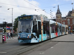 GVBA tram 2094 Amsterdam CS (Arthur-A) Tags: netherlands amsterdam nederland tram streetcar tramway strassenbahn electrico tranvia gvb combino tramvia elektriko gvba