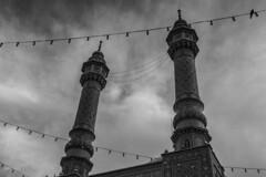 To the sky (davidemauro) Tags: iran minarets qom