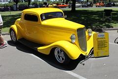 1933 Ford 3 Window Coupe (eagle69er) Tags: show car grove micke 2016