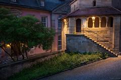 monastery Comburg - II (Ralph Oechsle) Tags: night cloister schwbischhall romanisch comburg erhardskapelle klostercomburg sechseckkapelle monasterycomburg