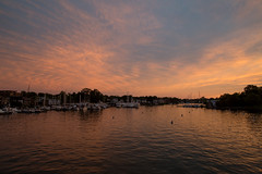 untitled (robwiddowson) Tags: sunset water landscape photography golden evening photo image picture maryland photograph hour annapolis waterscape robertwiddowson