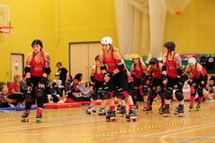 Dolly Rocket Rollers (sk8geek) Tags: team rollerderby skaters dollyrocketrollers