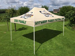 Quick Folding Tent - Paintball Tent (2)