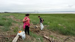 20160623_112701 (Keep Wales Tidy) Tags: bridge summer up coast marine severn clean litter learning monmouth welsh care baccalaureate caldicot rogiet welshcoastalpathcleanup