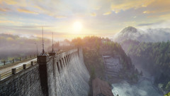VOEC - 041 (Screenshotgraphy) Tags: sunset sky mountain lake game nature colors architecture clouds contrast montagne landscape pc screenshot lumire couleurs country lac ethan steam gaming ciel beaut carter concept nuages paysage vanishing campagne beautifull jeu naturelle urbain