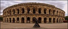 Nimes (ireninakmer) Tags: france statue arena nimes francia statua provenza torero