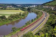 155 261-1 on GA 52867 approaching Himmelstadt (37001 overseas) Tags: karlstadt karlstadtammain himmelstadt main maintal db dbschenker ga 52869 52867 ingolstadt seelze xp 48929 class155 1552611