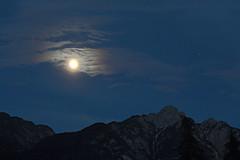 Moodlight (Robyn Hooz (away)) Tags: moon light moonlight luce luna montagne mountains mood romance atmosfera marte
