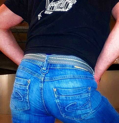butt jeans tight levis 501 levis501 knackarsch jeansbutt