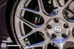 Audi R8 Spyder на дисках HRE Wheels