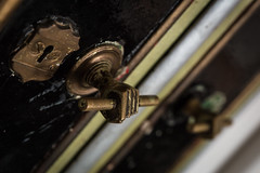 Urbex in The Bridge Hotel (BenChapmanphoto) Tags: colour canon handle hotel key hand lock decay january lincolnshire full frame dslr derelict urbex 2015 bridgehotel suttonbridge canon5dmkiii tamronsp2470mmf28divcusd