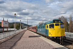 27106/D5394 - Aviemore (richa20002) Tags: scotland highlands br diesel engine rail railway loco class british locomotive preserved 27 strathspey mcrat