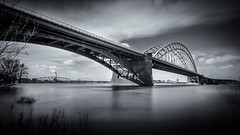 Waalbrug, Nijmegen (80D-Ray) Tags: bridge nijmegen waal waalbrug