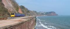 143618 Sprey Point, Teignmouth (Marky7890) Tags: train devon pacer teignmouth dmu 2t13 fgw class143 spreypoint 143618