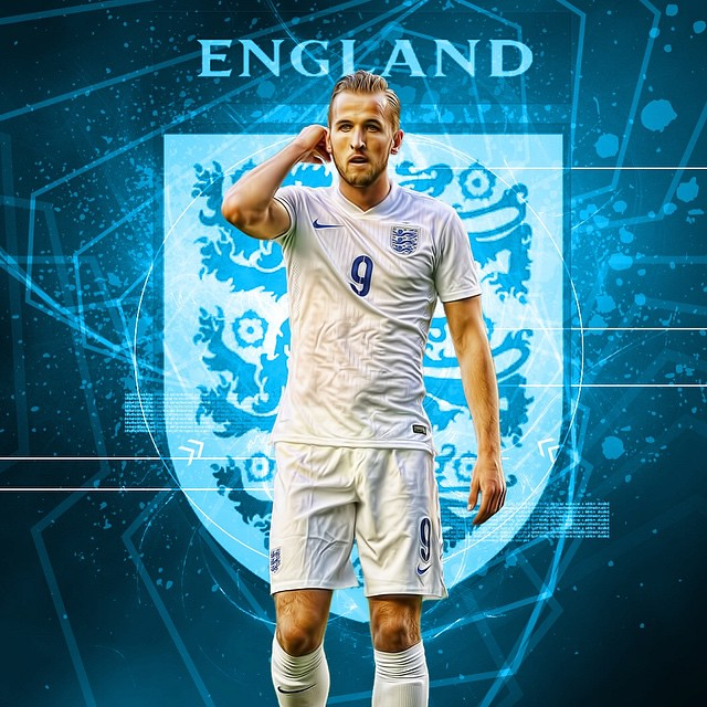 Just done this HARRY KANE Image we do them for phone cases etc, so excited he has a massive future #THREELIONS