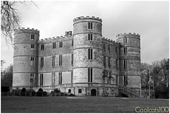Lulworth Castle  **Explored!** (Coolcats100) Tags: uk england blackandwhite bw white black castle canon march blackwhite europe explore dorset sw 2015 lulworthcastle canon650d coolcats100