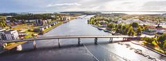 Suvanto Silta (Jon Norppa) Tags: skyline finland aerialphotography joensuu dji easternfinland itsuomi djiphantomvision djiphantomvisionfc200