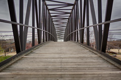 Bridge to Brown's Island Park