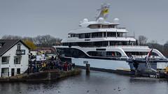 "Luxury Yacht / Luxe jacht ""Symphony"" (Frans Berkelaar) Tags: ships transport nederland nl symphony schiffe vessels zuidholland schip schepen superyachts vaartuig navires luxuryyacht luxejacht"